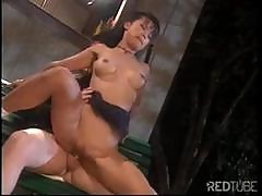 Skinny Asian Babe Gets Her Sweet Tight Hole Enlarged By A Big Cock