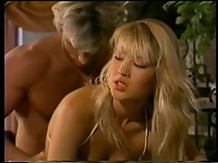 Super Sexy Blonde Asian Babe Sucks Cock and Gets Fucked - Classic Porn Clip