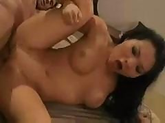 Asian Babe Asa Akira Sucks A Large Dick And Sits On It To Fuck