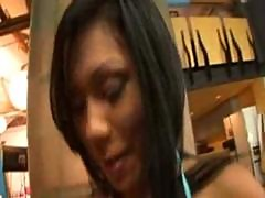 Asian Kyanna Lee in Breakin Em In MrHitch com