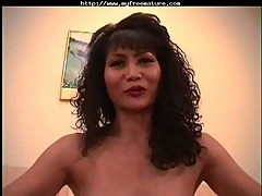 Asian mature getting analed hard