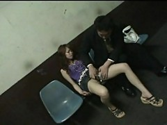 Drunk teengirl forced into blowjob in public part 2