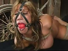 Busty Asian Girl Is Tied Up And Gagged In This Bdsm Video