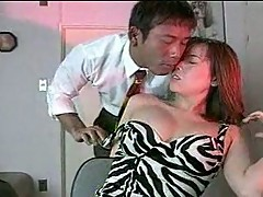 Japanese couple wild act