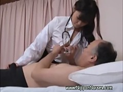 Nurse uniform asian handjob oldvsyoung