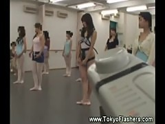 Naughty asian teen dance toy vibrators