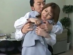 The Boss Fucks The Office Girl