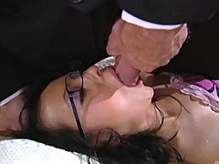 Sleepy Asian Babe With Small Tits Gets Fucked and Facialized