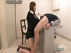 Very Hot Japanese Woman Smokes Huge Tasty Cocks Instead Of Cigarettes