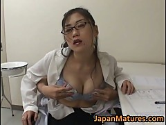 Amazing nurse is a hot mature gal