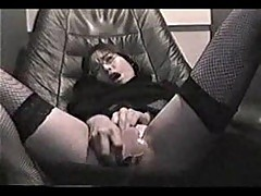 Asian amateur bitch masturbating